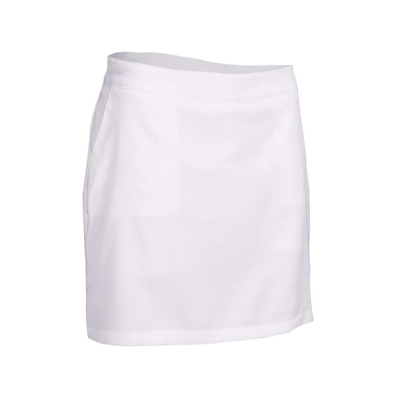 WOMENS WARM WEATHER GOLF CLOTHING Golf - WHITE W WW SKORT INESIS - Golf Clothing