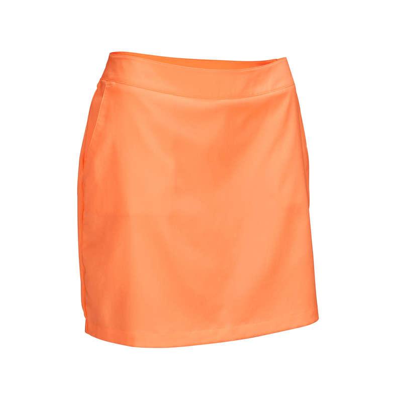 ABBIGLIAMENTO GOLF DONNA TEMPO CALDO Golf - Gonna-pantaloncino arancione INESIS - Bermuda e gonne golf