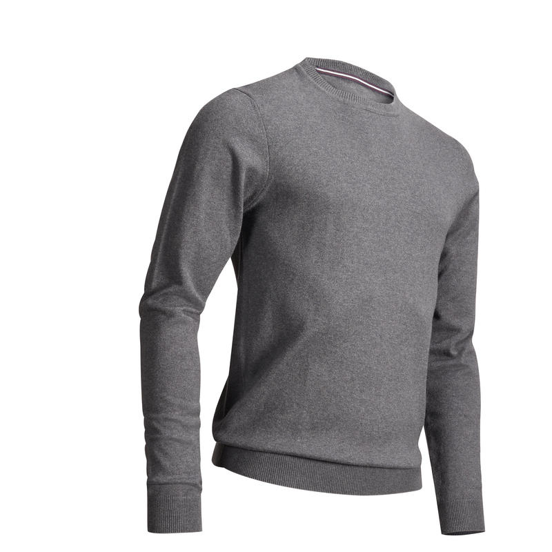 Men's Golf Pullover Sweater Anthracite Grey