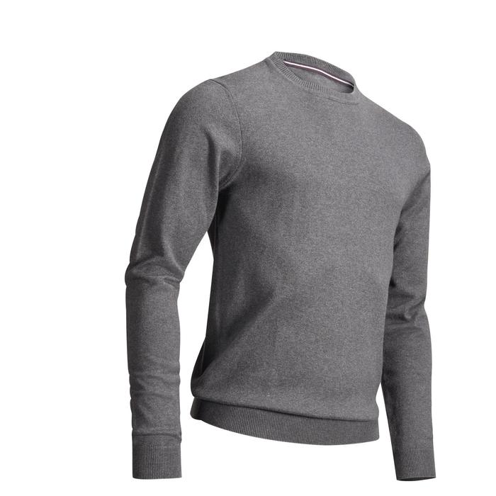 PULL GOLF HOMME GRIS FONCE