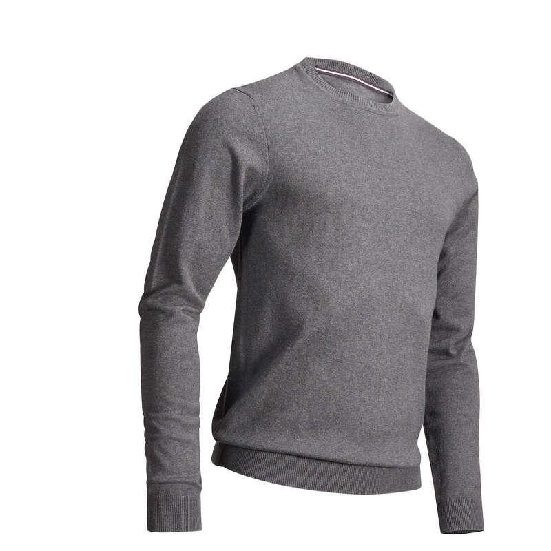 MENS MILD WEATHER GOLF CLOTHING Golf - Men's Pullover - Dark Grey INESIS - Golf Clothing