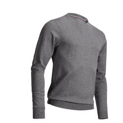 PULL DE GOLF COL ROND HOMME TEMPS TEMPERE GRIS ANTHRACITE