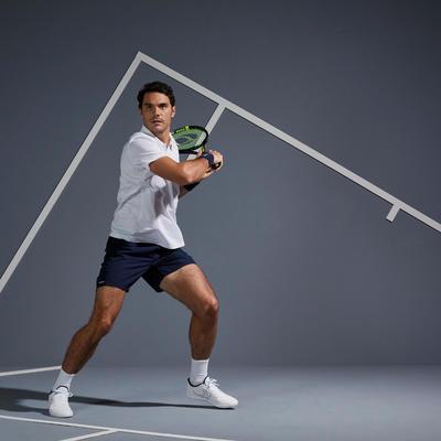Чоловічі шорти Dry 100 для тенісу - Темно-сині