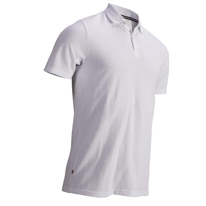 Golf Poloshirt kurzarm Herren weiß
