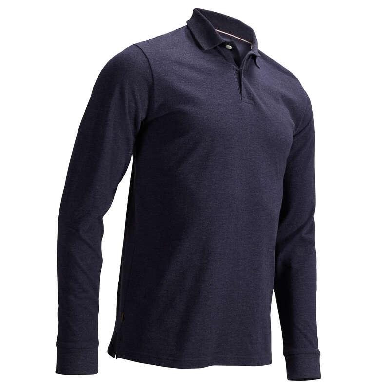 ÎMBRĂCĂMINTE GOLF BĂRBAȚI VREME TEMPERATĂ Imbracaminte - Bluză golf bărbaţi  INESIS - Sporturi