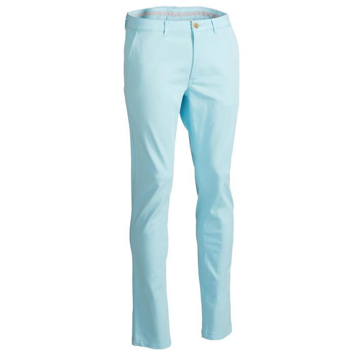 Golfbroek voor heren lichtblauw