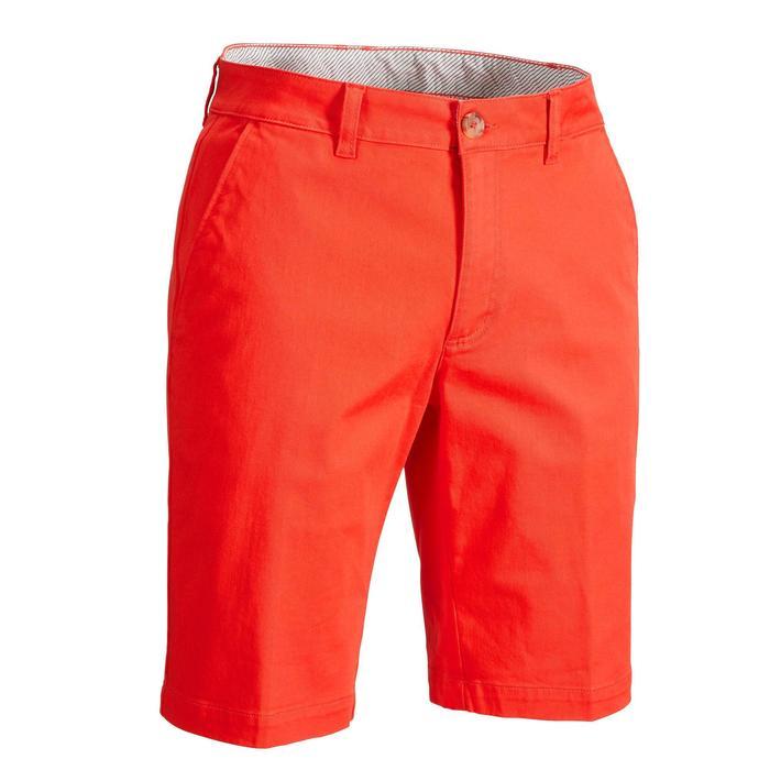 Golf Bermuda Shorts Herren rot/korallenrot