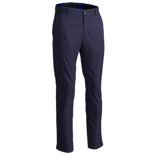 MEN'S BREATHABLE GOLF TROUSERS NAVY BLUE