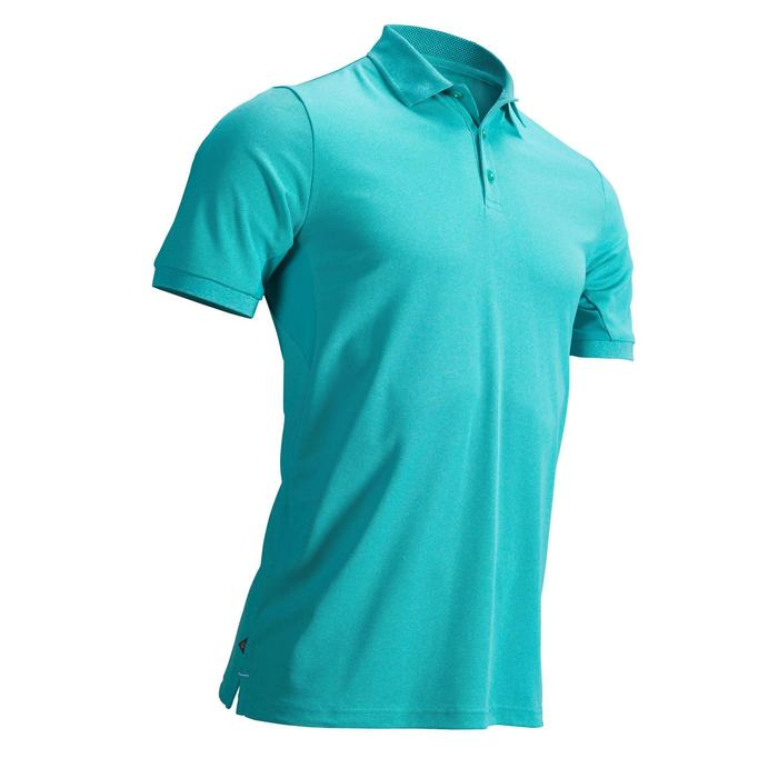 POLO GOLF HOMME RESPIRANT VERT TURQUOISE