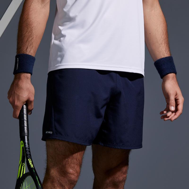 Short de Tenis TSH 100 Hombre Dry Azul Marino