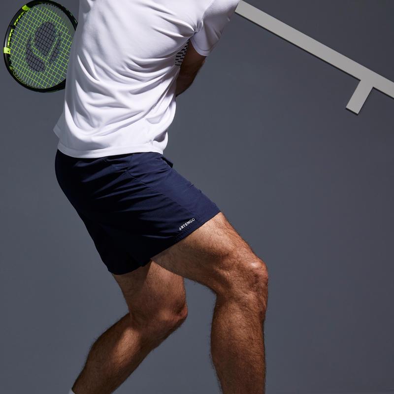 Tennis Shorts Dry TSH 100 - Navy