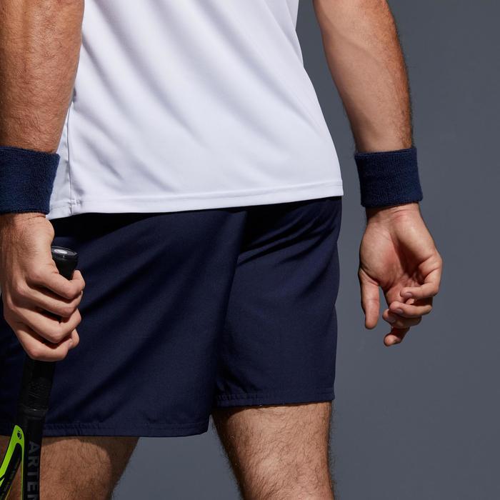 Tennisshorts Dry 100 Tennishose Herren marineblau