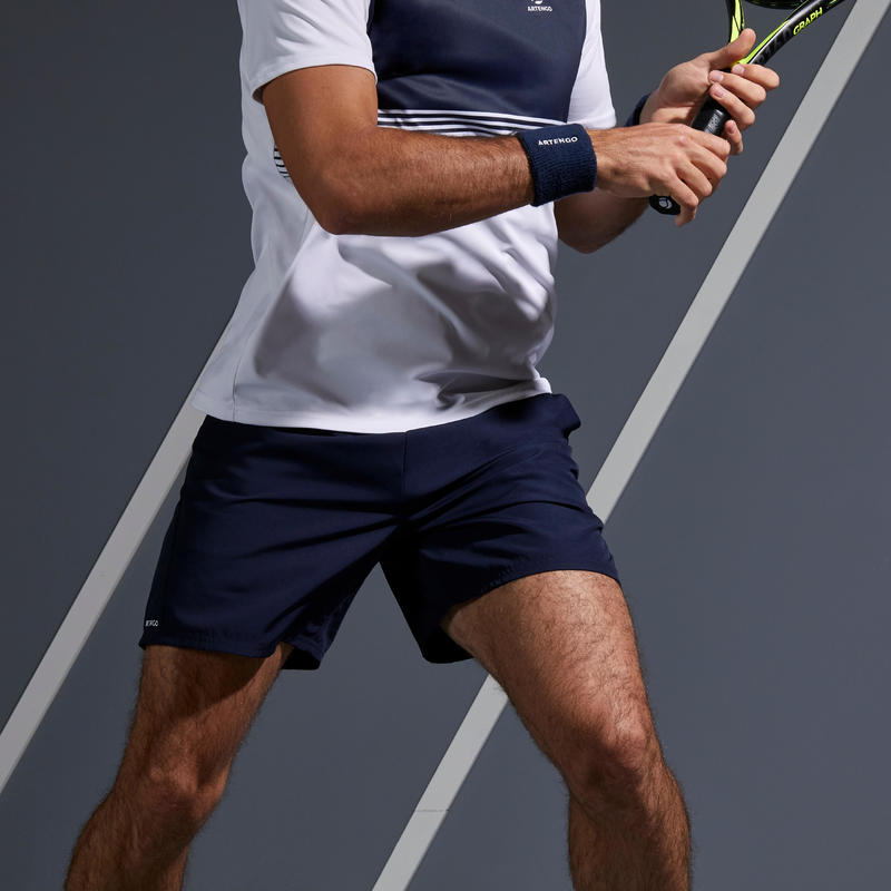 กางเกงเทนนิสขาสั้นรุ่น Dry TSH 100 (สีกรมท่า)