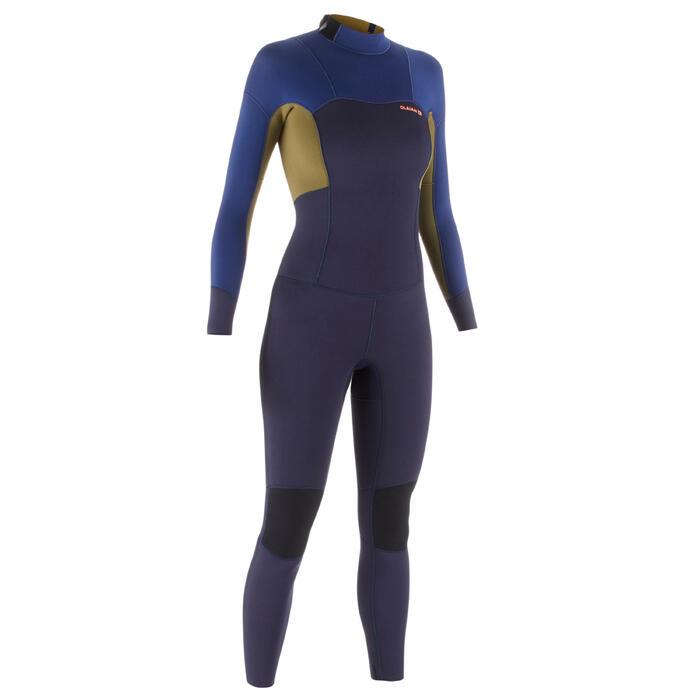 Wetsuit dames 3/2 500 back zip