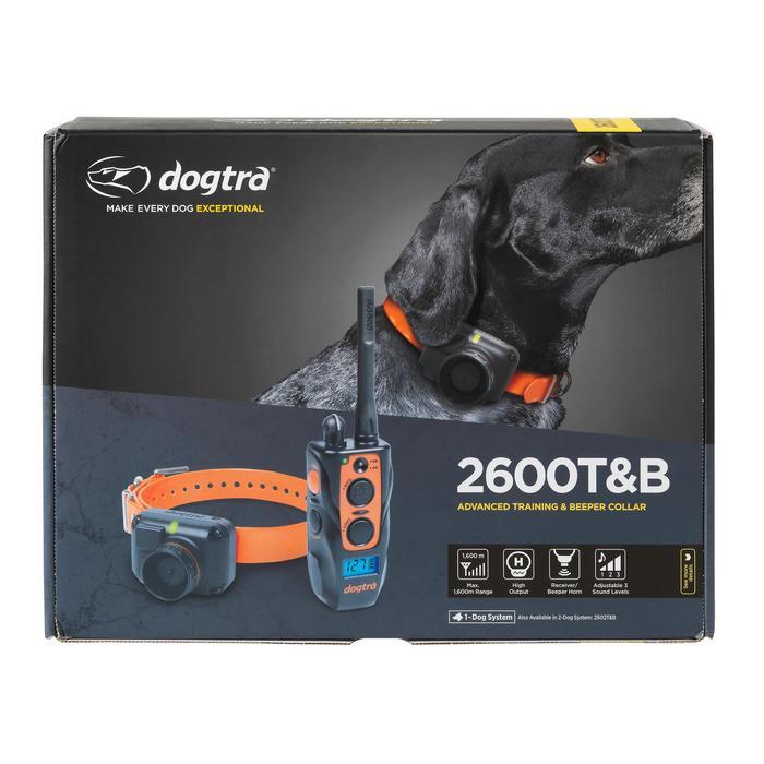 Collar Adiestramiento Y Localización Perros Dogtra 2600 T&B 1500 Metros