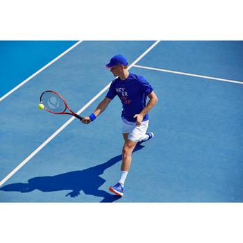 Tennisshort voor heren Dry 100 wit