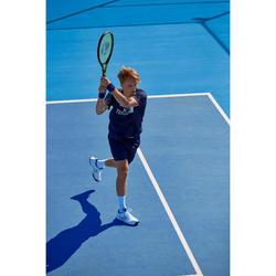Tennisschläger TR160 Graph besaitet Erwachsene schwarz