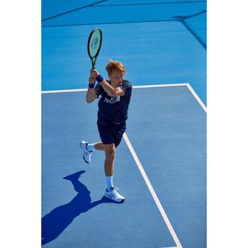 Tennisshort voor heren Dry 100 marineblauw