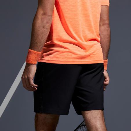Short de tennis au sec TSH500 noir– Homme