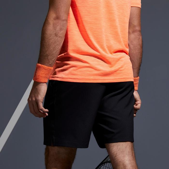 兒童款網球短褲500 Dry-黑色