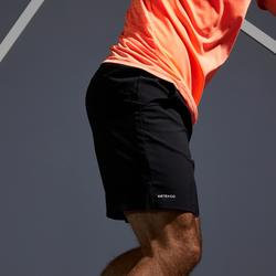 男款快乾網球短褲TSH 500-黑色
