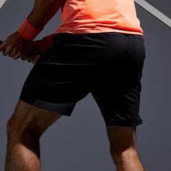 Tennisshort voor heren Dry TSH 500 zwart