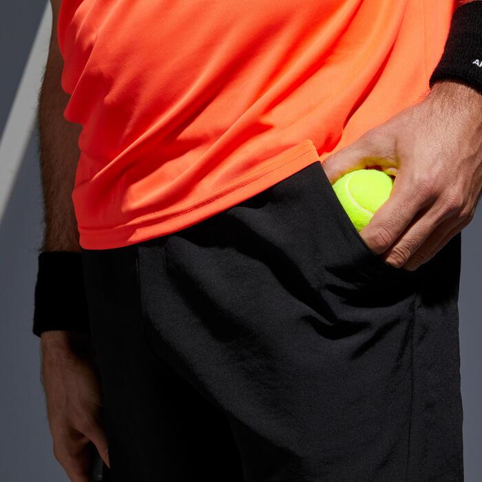 Tennisshort TSH 100 Dry zwart