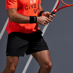 Tennisshort voor heren Dry 100 zwart
