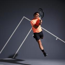 Tennis-Shorts Dry 500 Herren schwarz
