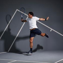 Tennisshort heren Dry 500 Court marineblauw