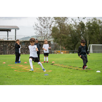 Fußball-Trainingshose T100 Kinder schwarz