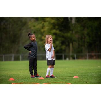 Trainingshose Fussball T100 Kinder schwarz