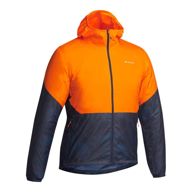 Férfi intenzív túraruházat, cipő, felszerelés - Férfi kabát FH500, szélálló QUECHUA