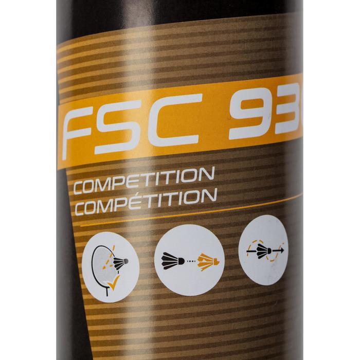 Lot De 12 Volants De Badminton Plumes FSC 930 Vitesse 77