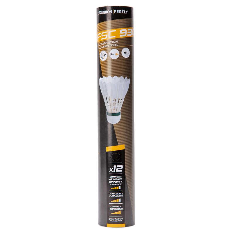 VOLANTS PLUMES Sport di racchetta - Volani badminton FSC 930 x12 PERFLY - BADMINTON