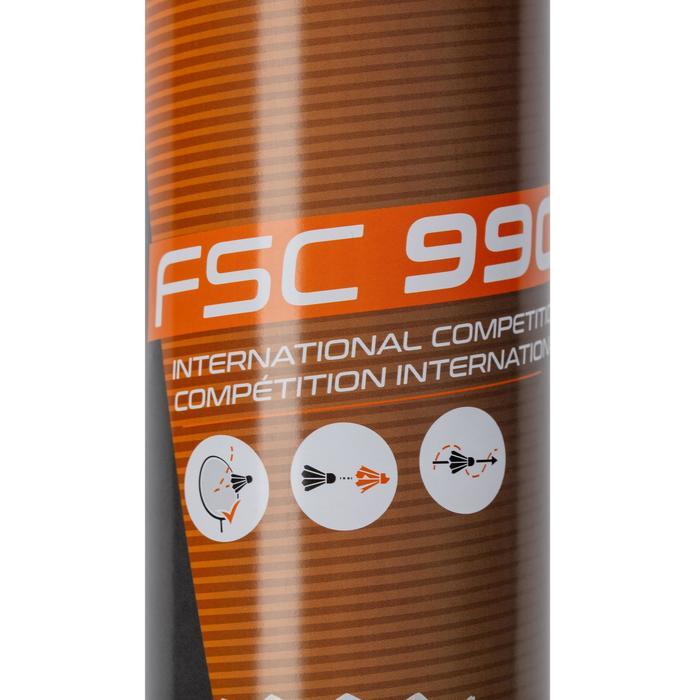 12入羽毛製羽毛球FSC 990 SPEED 76