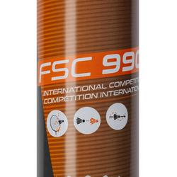 Lot De 12 Volants De Badminton Plumes FSC 990 Vitesse 77
