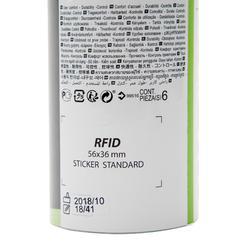 中速塑膠羽毛球PSC 100(6入)-黃色