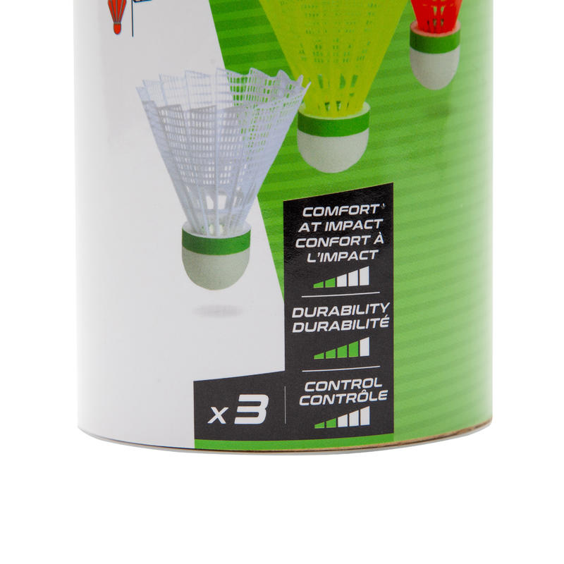 VOLANTS DE BADMINTON OUTDOOR x 3 -