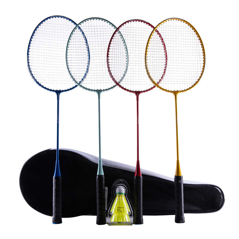 RAKETY NA BADMINTON DOSPĚLÍ RAKETOVÉ SPORTY - BADMINTONOVÁ SADA STARTER PERFLY - Badminton