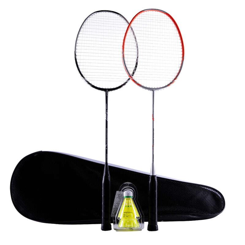 RACHETE BADMINTON ADULȚI Sporturi cu racheta - Rachetă Badminton BR190 PERFLY - Badminton in aer liber