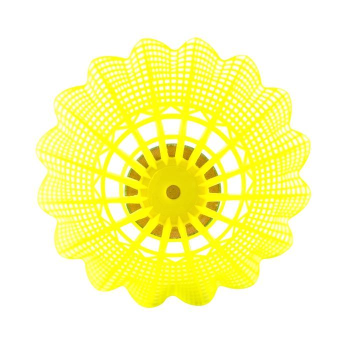 Badmintonracket set BR AD Discover rood/geel