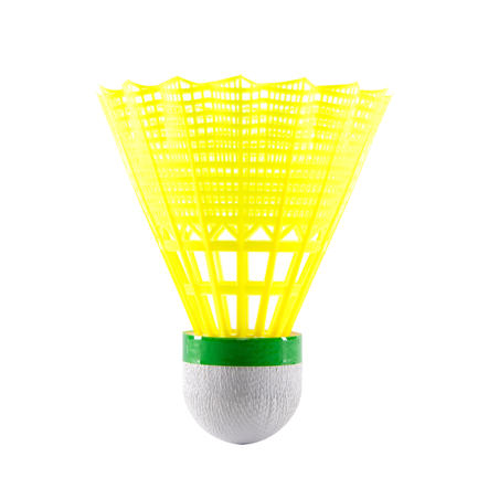 ADULT BADMINTON RACQUET BR AD SET DISCOVER RED YELLOW