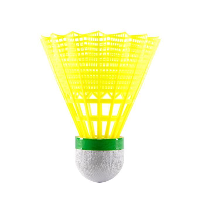 Badminton-Set Outdoor Discover Erwachsene BR Free rot/gelb