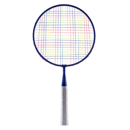 KID BADMINTON RACQUET IN SET BR SET DISCOVER RED BLUE