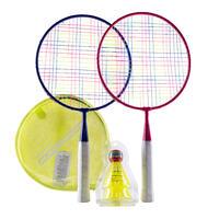 Kinder Badminton-Set Schläger und Bälle