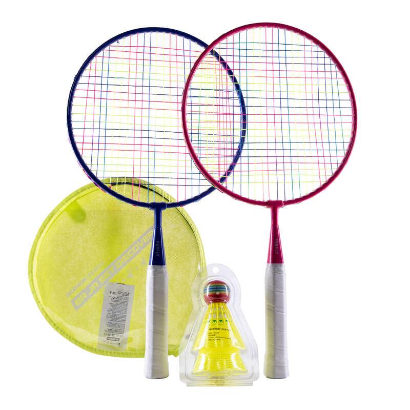 FREE BADMINTON Sporturi cu racheta - Set Rachete BR Discover  PERFLY - Badminton in aer liber