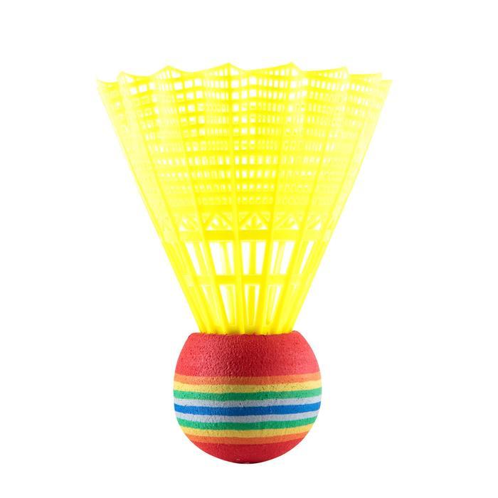 Badmintonset voor kinderen Discover rood/blauw