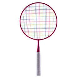 KID BADMINTON RACKET IN SET BR SET DISCOVER RED BLUE
