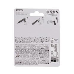 Badmintongrip - Comfort Grip 1 stuk - zwart